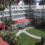 Garden at the Hotel Del Coronado