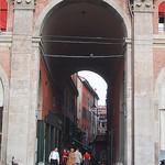 Street off of Piazza Maggiore