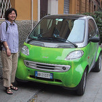 Samantha and a smart car