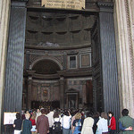 Doorway of the Pantheon