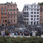 Atop the Spanish Steps