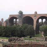 Remains of the Basilica of Constantine and Maxentius