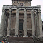 Remains of the Temple of Antoninus and Faustina