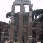 Remains of the Temple of Castor and Pollux